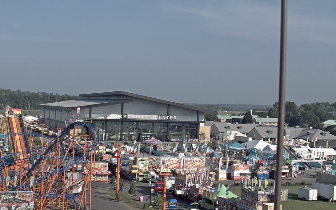 Expo Center Opens to Fairgoers!
