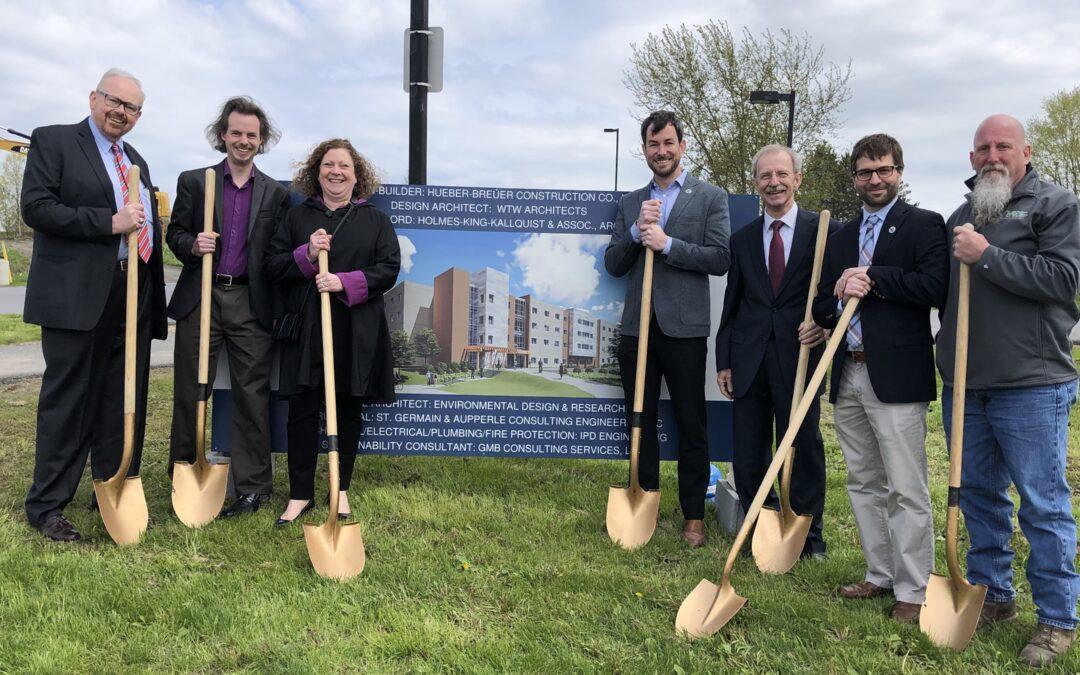 Groundbreaking for New Dorm Hall at SUNY Polytechnic – Utica