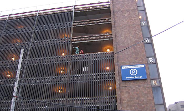 Crouse Hospital Parking Garage