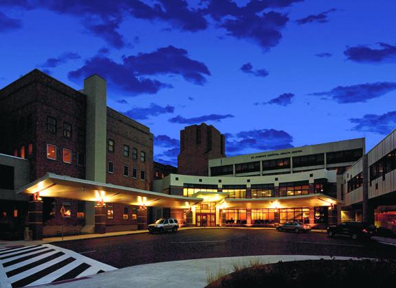 St. Joseph's Hospital – Lobby and Entrance