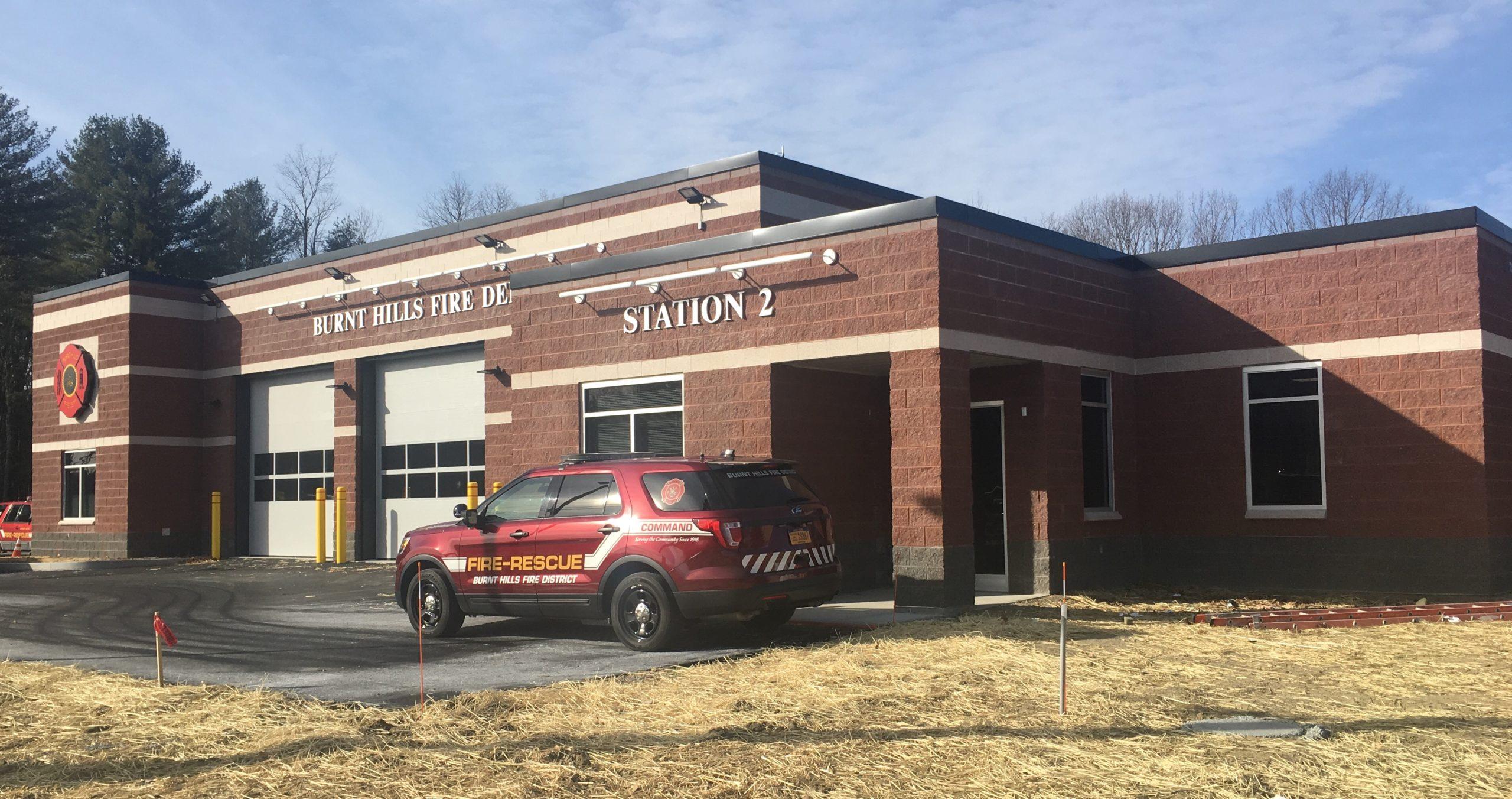 Burnt Hills Fire Station #2