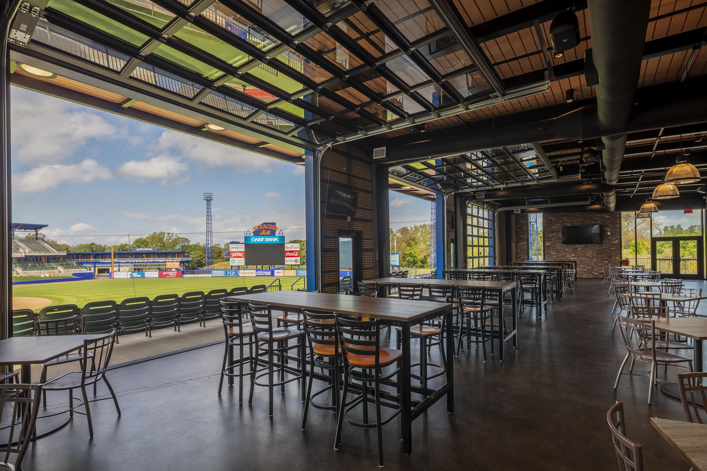 NBT Bank Stadium restaurant area