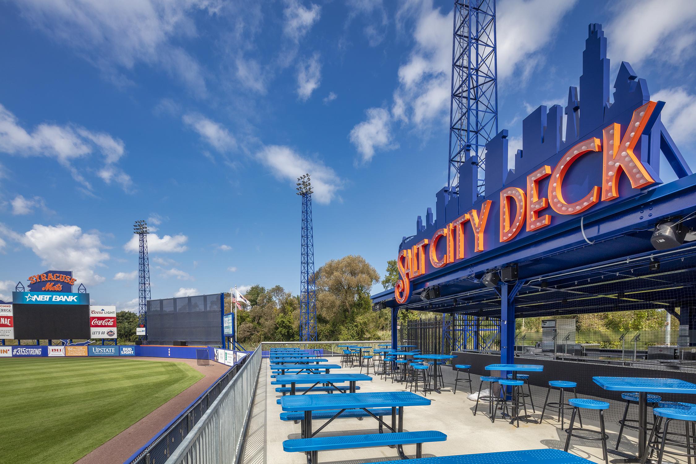 NBT Bank Stadium's Salt City Deck